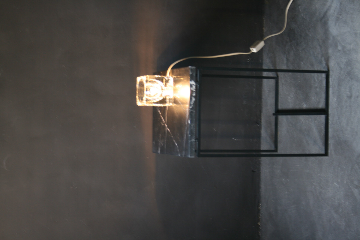 Ice cube lamp - LIGHTING - Antiques - Authentic and so